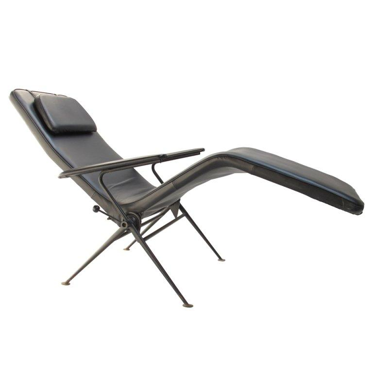 Photo of Mauser 1950's adjustable reclining lounge chair, Germany