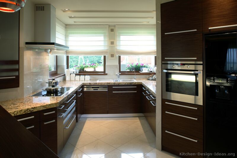 Modern Black Kitchen Cabinets wood kitchen cabinets » contemporary wood kitchen cabinets