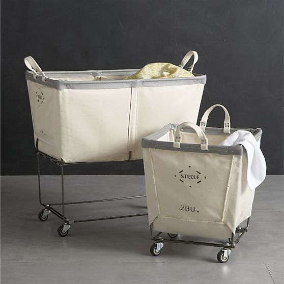 5 Favorites Wheeled Canvas Laundry Hampers Canvas