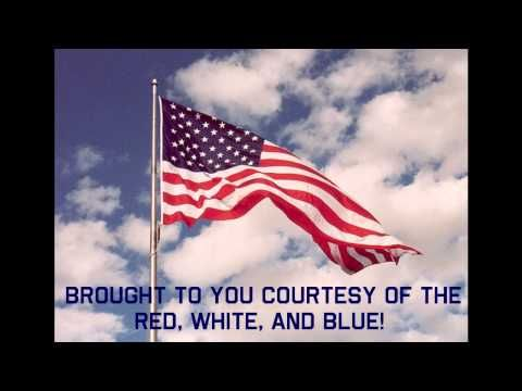 9 11 Tribute Courtesy Of The Red White And Blue By Toby Keith Lyric Video American Flags Flying American Flag Pictures American Flag Photos