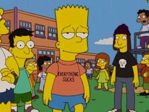 Lisa sucks bart
