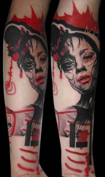 German Tattoo Style : german, tattoo, style, Ink's, Bailey,, Uksfresh:, German, Tattoo, Artists, Volko, Merschky..., Tattoo,, Trash, Polka