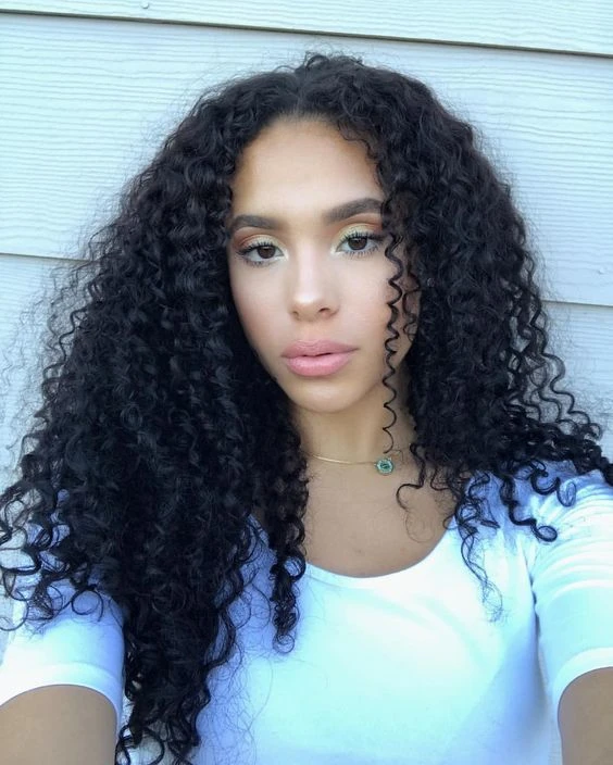 Human Hair Wigs Green Lace Front #humanhairextensions