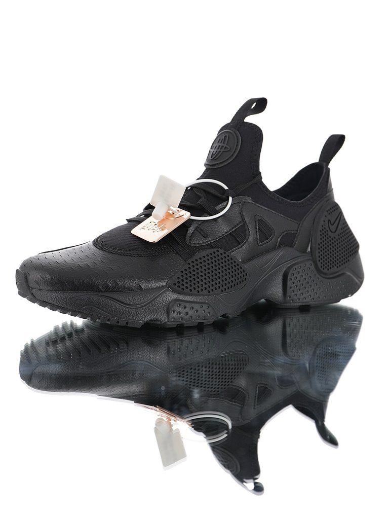 68583e75db23c Nike Huarache E.D.G.E TXT QS Wallace Lycra Elastic Boots Foot Casual Sports  Jogging Shoes AV3598-002
