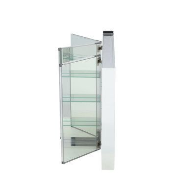 Home Depot Medicine Cabinet With Mirror Magnificent Pegasus 48 Inw X 31 Inh Frameless Recessed Or Surfacemount Tri