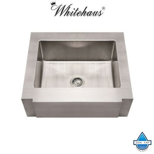 Whitehaus WHNCMAP3026 Stainless Steel 30\