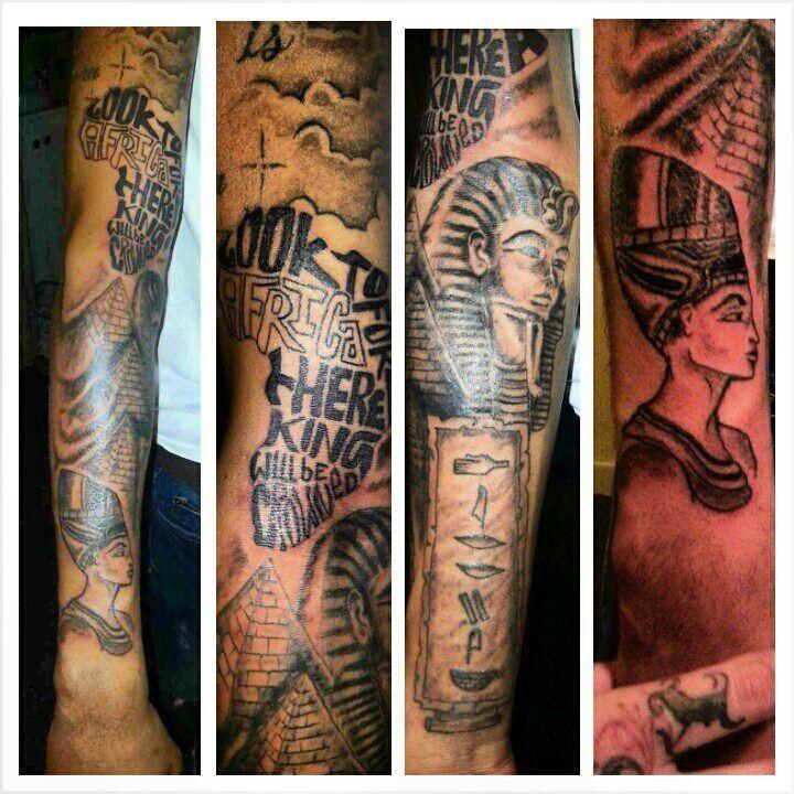 African Half Sleeve Tattoos tattoos on pinterest couple