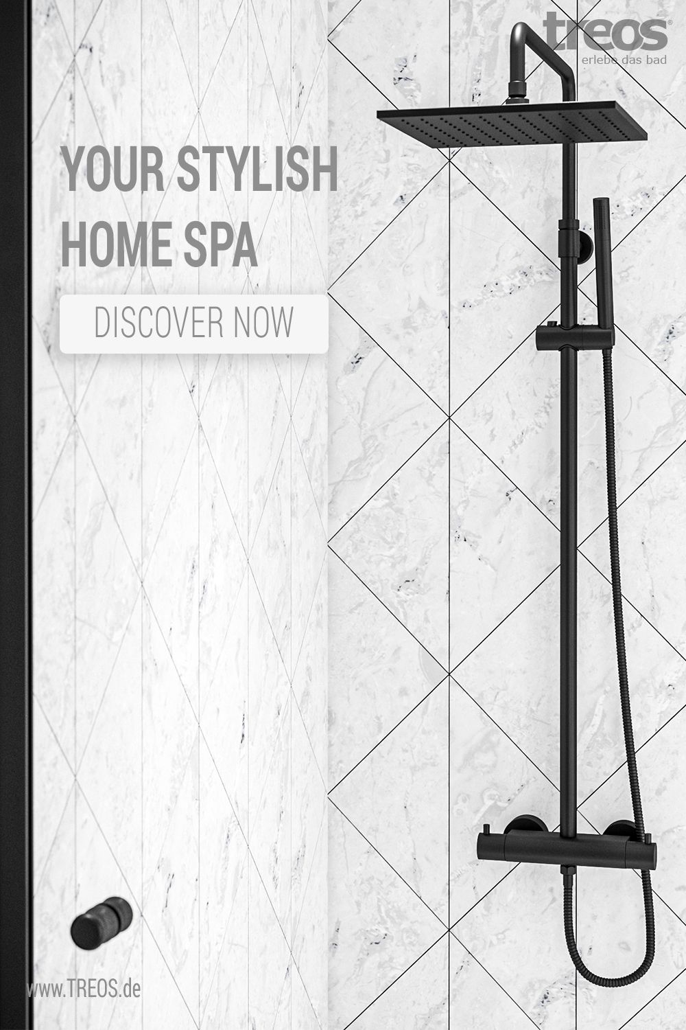 The Best Option For Your Home Spa With A Cool Urban Look In Black Matt Create Your Perfect Wellness Oasis With The Design Prodcu In 2020 Regendusche Dusche Kopfbrause