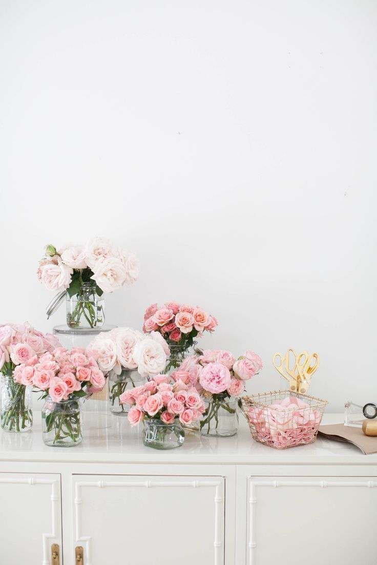 FIll your home with vases filled with blooms.