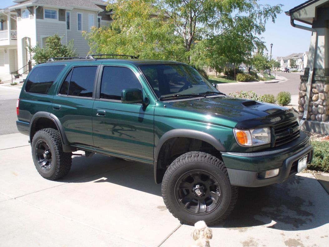 1999 Toyota 4runner Green Lifted Black Rims Toyota 4runner 4runner Toyota