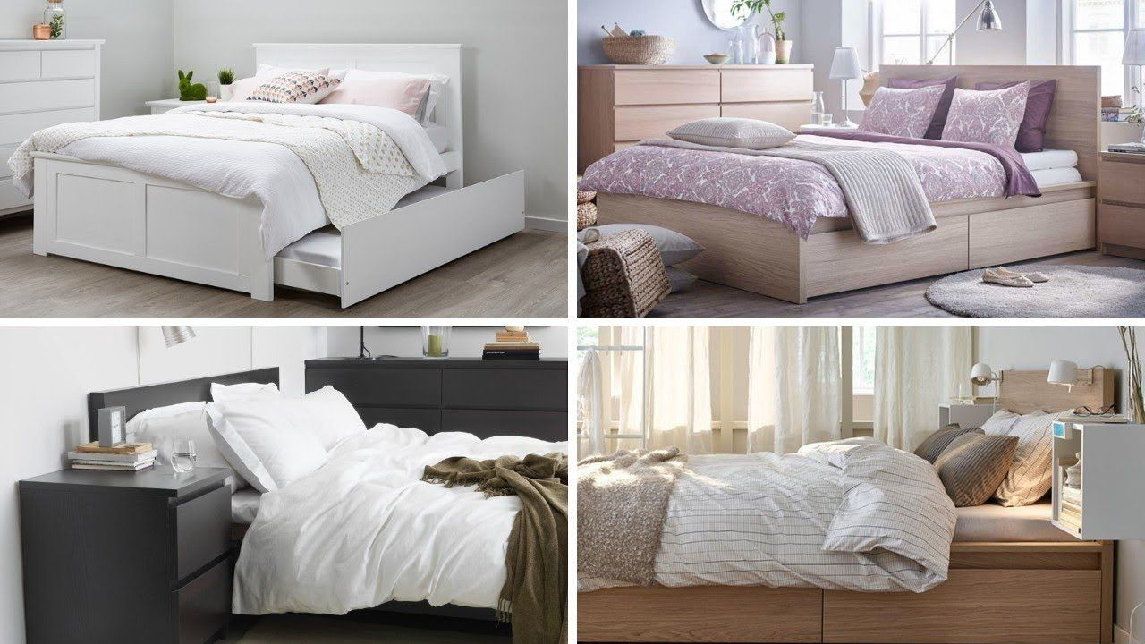12 IKEA Malm Bedroom Decorating Ideas  Ikea malm, Malm bed