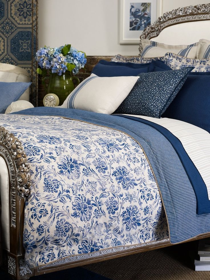 Blau Und Weiß · RALPH LAUREN Bed Blanket   Google Search