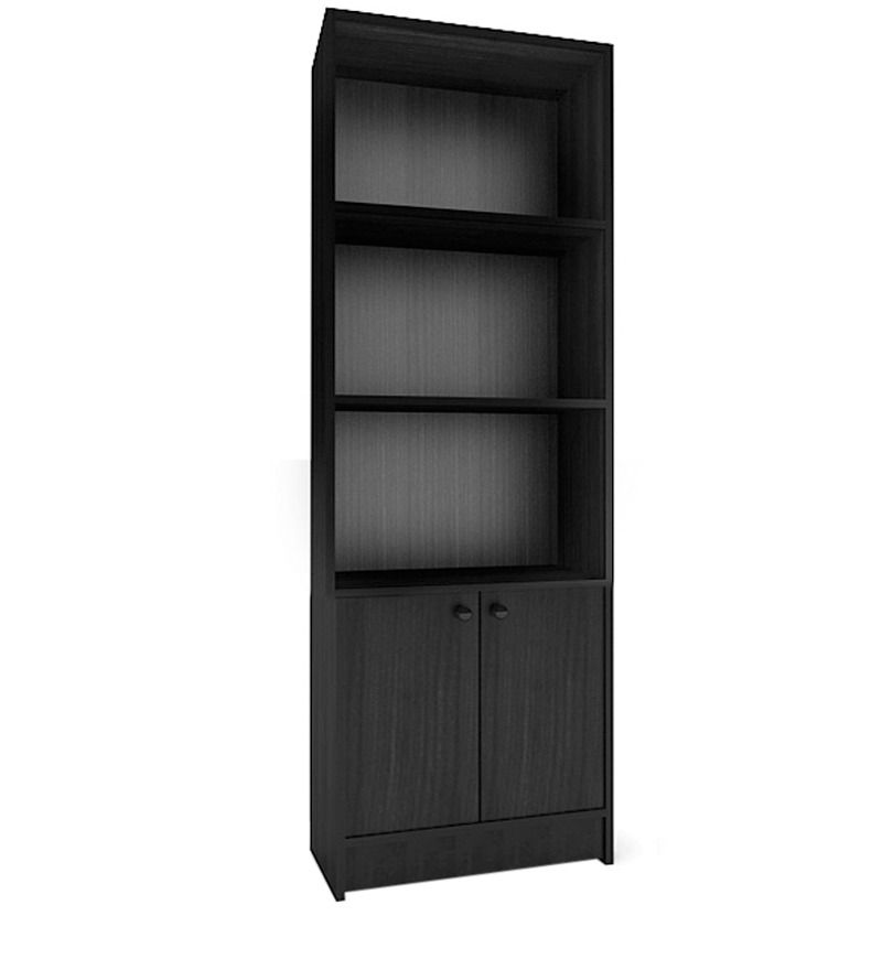 Scott Book Shelf In Black Oak By By Housefull Shelves