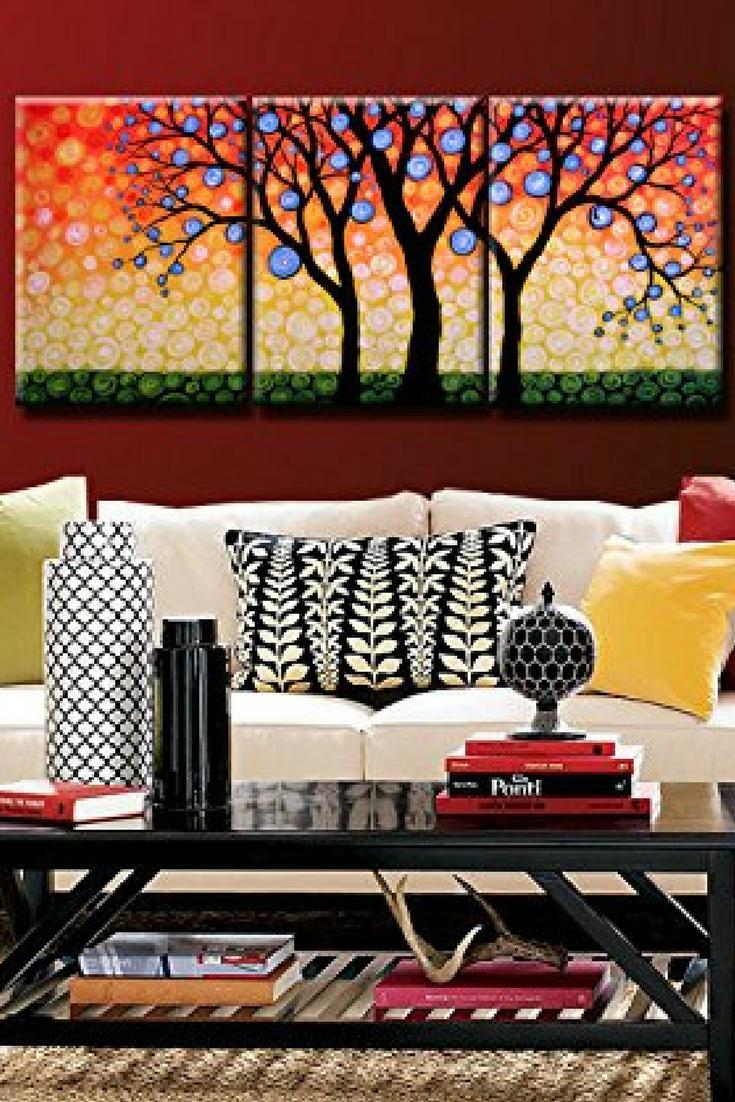 72 Tree Of Life Decor Ideas Wall Art Home Wall Art Wall Art Decor