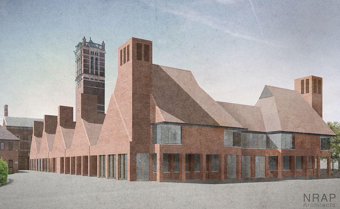 Christ's Hospital School Campus design, Architect