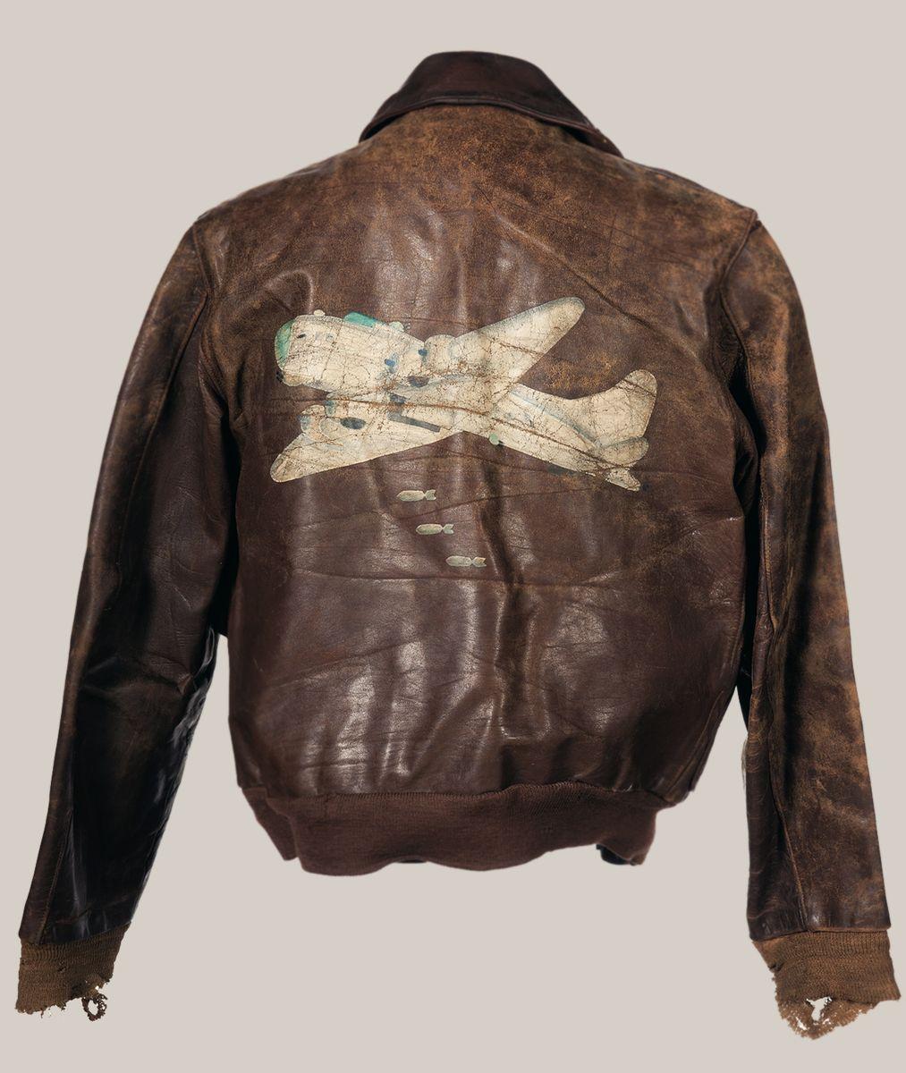 chrisgaffey Leather flight jacket, Jackets, Wwii bomber