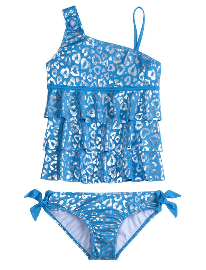 a68d14696e Cheetah Print Tankini Swimsuit | Tankinis | Swimsuits | Shop Justice ...