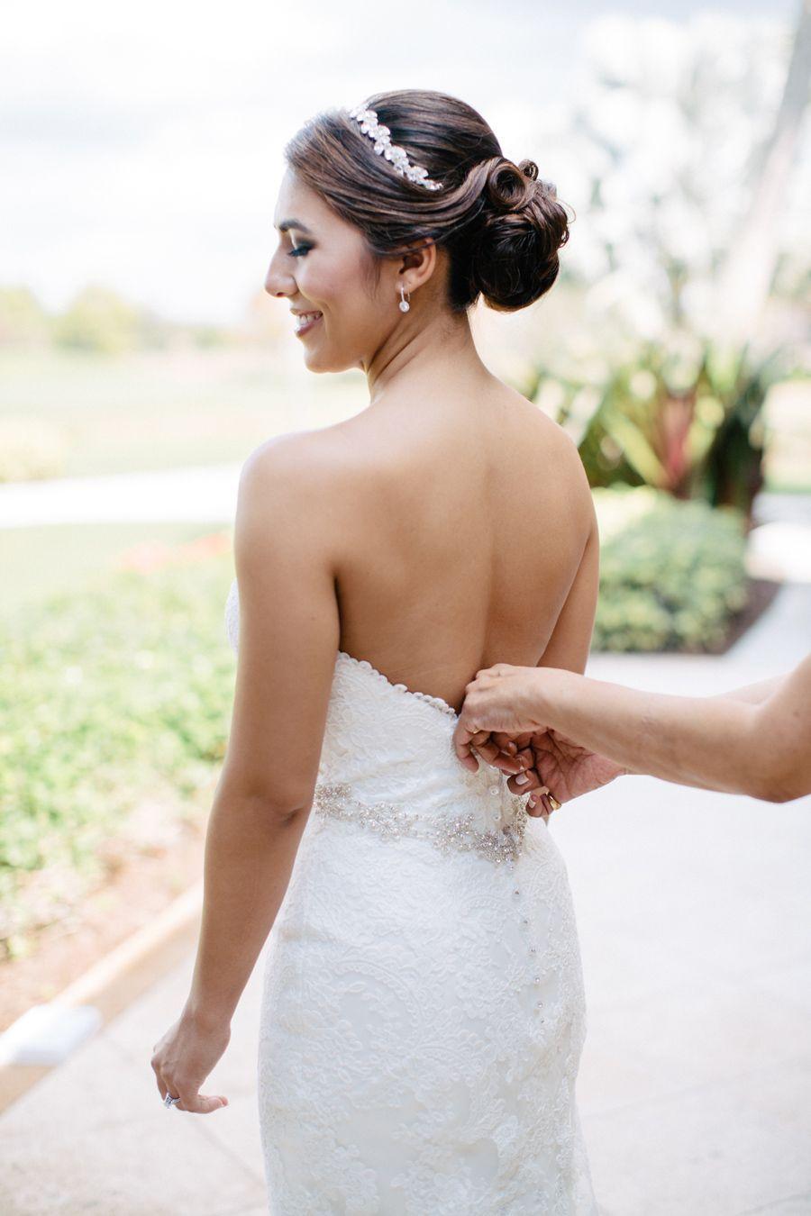 Ashley + Chad's Outdoor Wedding || http://www.erikadelgado.com/2017/03/28/ashley-chad-married-at-dusk-in-parkland-fl/