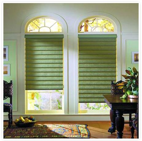 Hunter Douglas Vignette Roman Shades Come In Many Textures