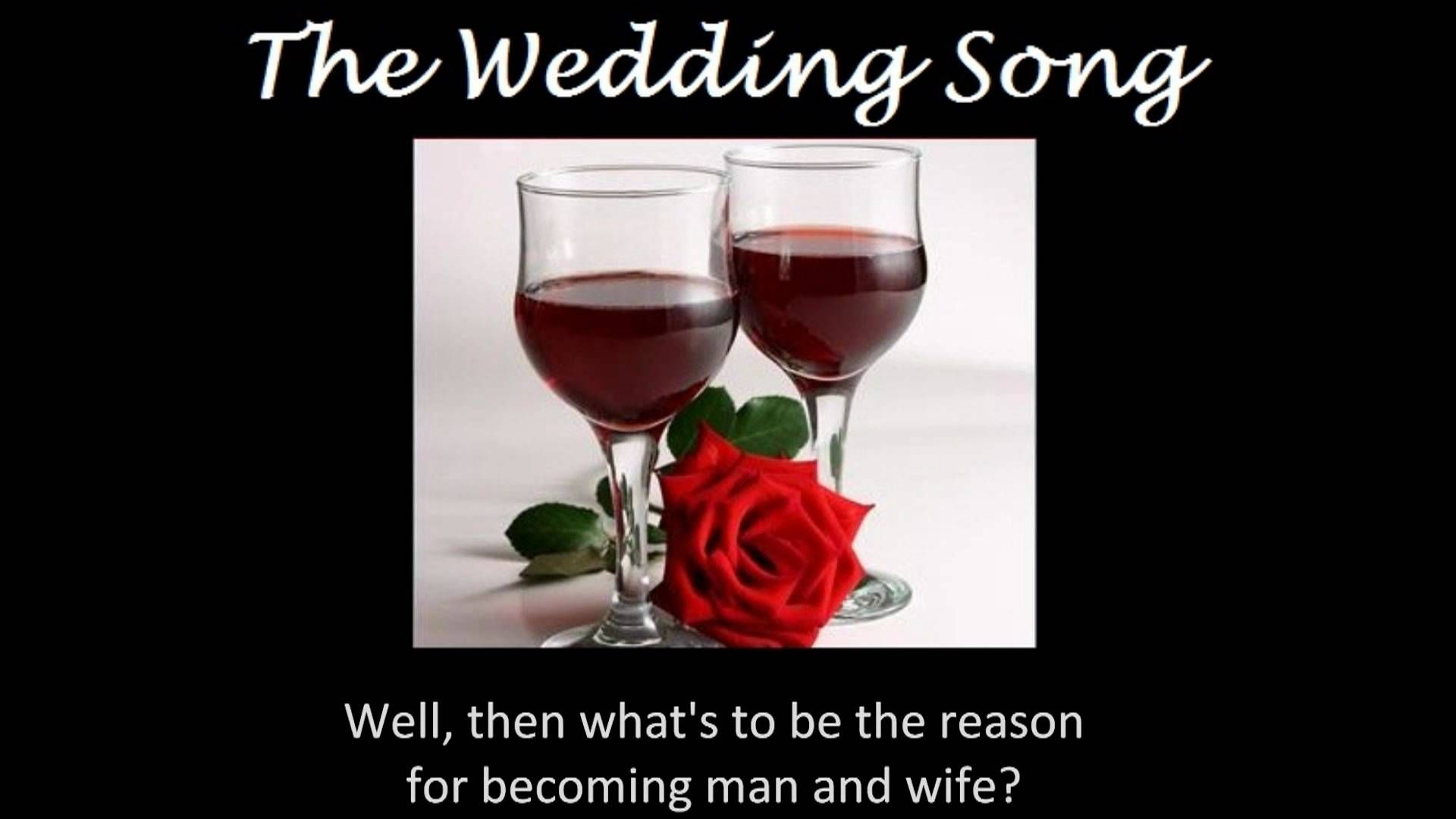 The Wedding Song There Is Love With Lyrics Tiffany Anne Music Songs Music Wedding Music