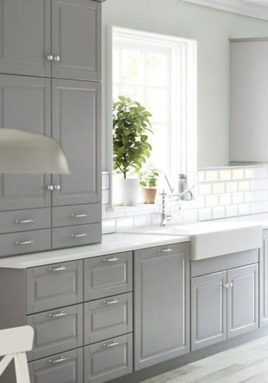 Cool grey kitchen cabinet ideas in kitchen pinterest