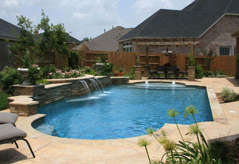 Love Custom Pools Backyard Pool Backyard Pool Landscaping Backyard Pool Designs