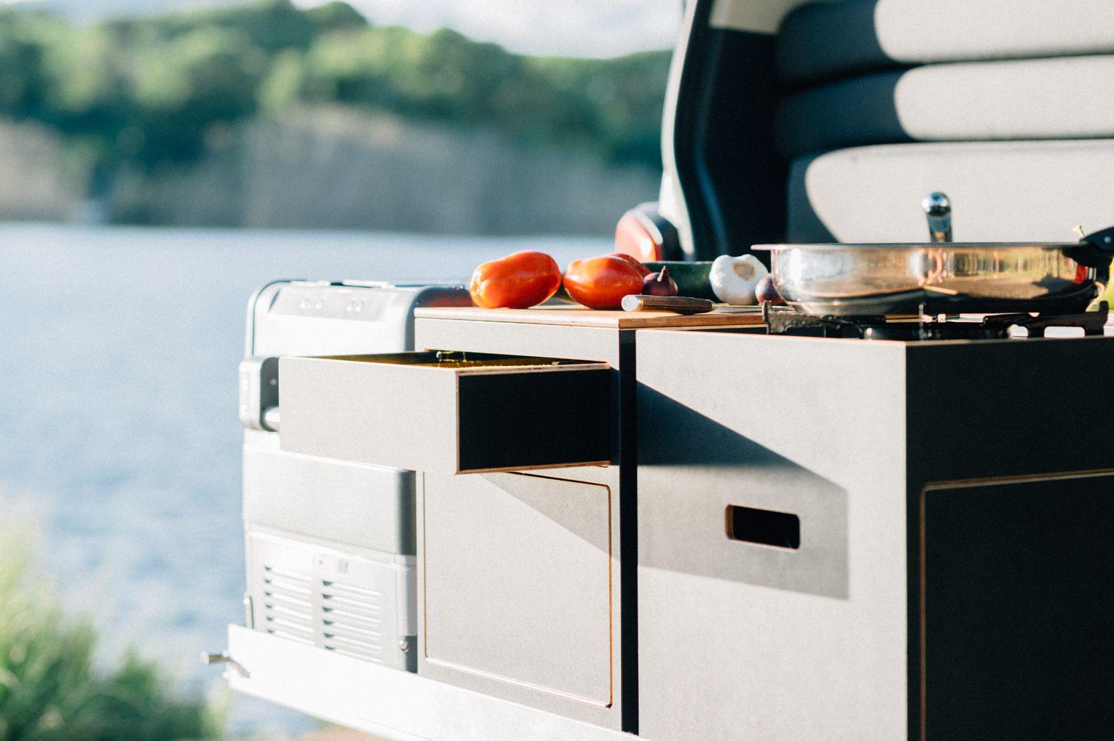 Küchenbox Camping ~ X vision mobile küchenbox t ausbau chuck box