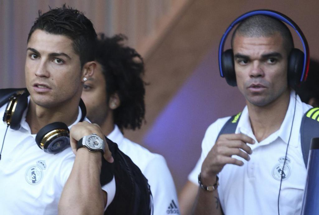Cristiano Ronaldo & Pepe.