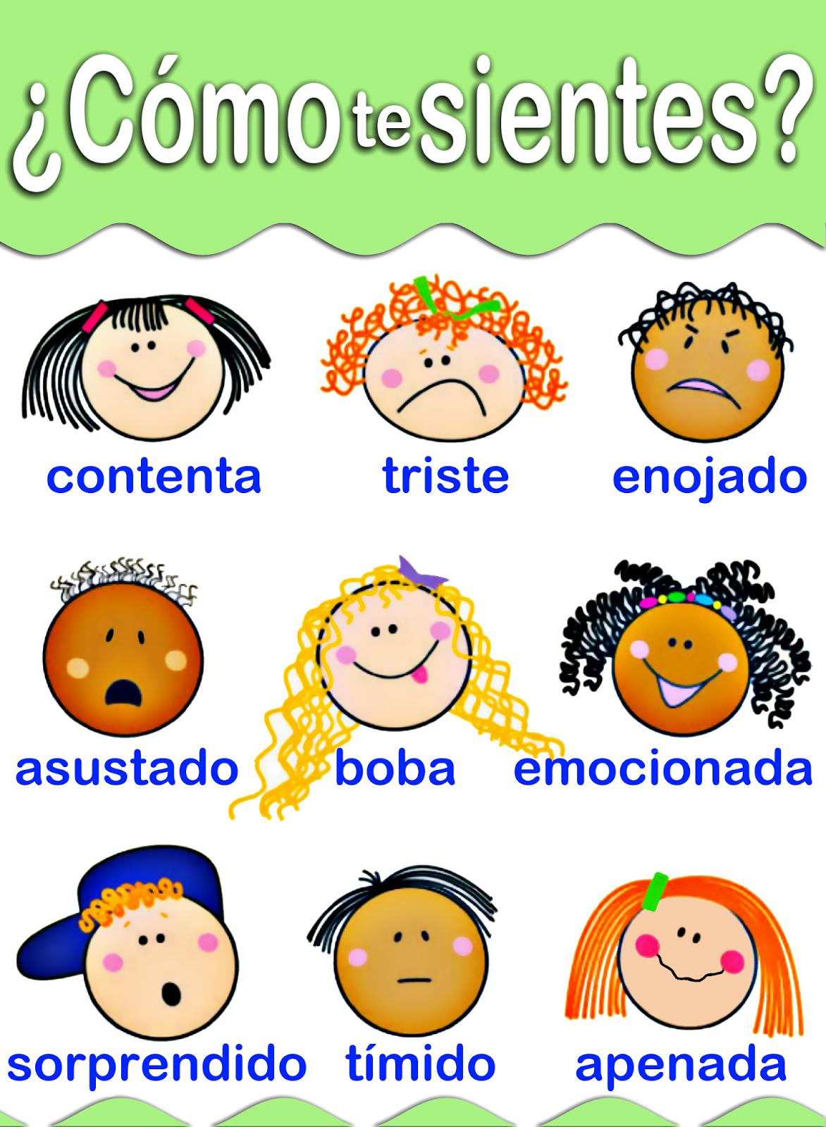 Me Encanta Escribir Es Un Sitio Para Que Mis Alumnos Puedan Aprender Y Revisar En Educacion Emocional Infantil Emociones Preescolares Las Emociones Para Ninos