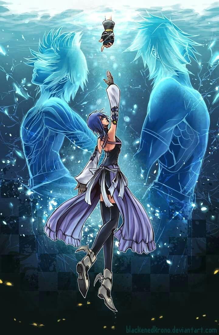 Aqua Kingdom Hearts Bird By Slepp 0 2 Kingdom Hearts Kingdom Hearts Wallpaper Kingdom Hearts Ii