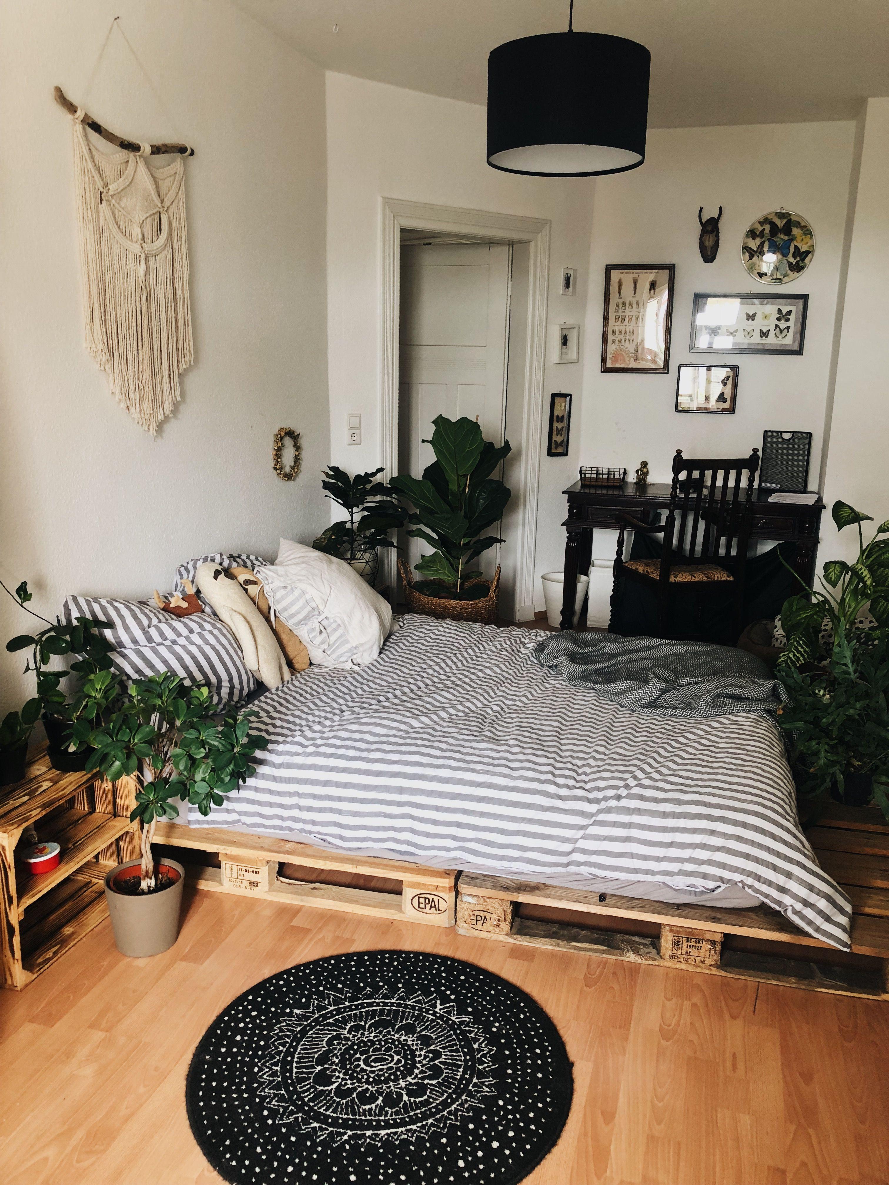 Merveilleux Chambre Plante Cagette Et Palette