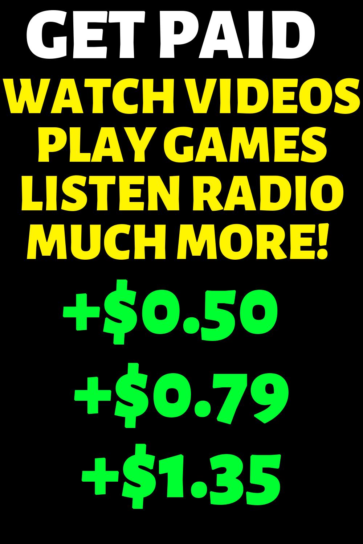 Make Money Online Watching Videos