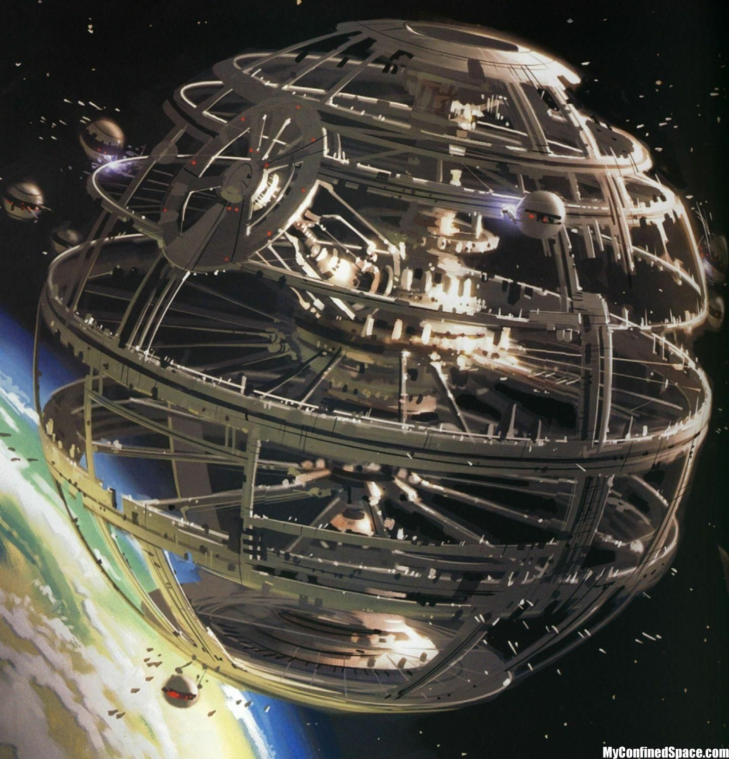 """Space And Scifi Things With Zmodeler: """"I've Got To Get Off This Planet"""