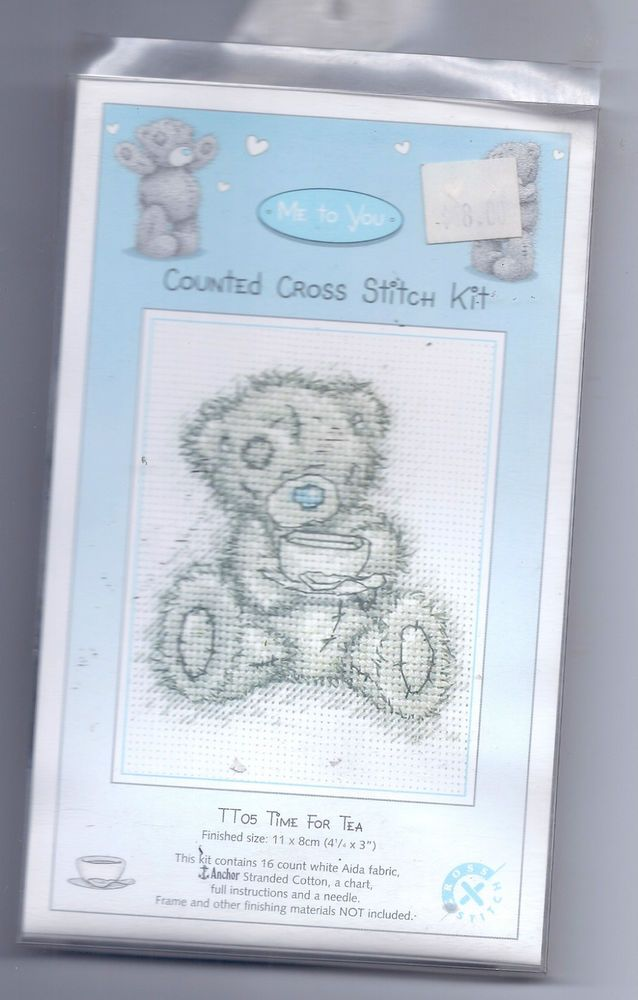Me to you by Anchor  - Counted Cross Stitch KIT:    Time for Tea    TT05