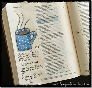 in the morning bible journaling