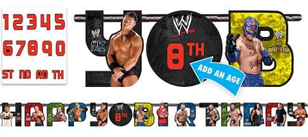 Wwe Party Supplies Wwe Birthday Party City Wwe
