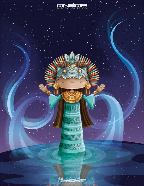 8536a29e3 Diosa del agua   Water goddess by Andres Salinas Barrera