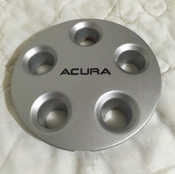 91-93 Acura NSX Silver Aluminum Wheel Center