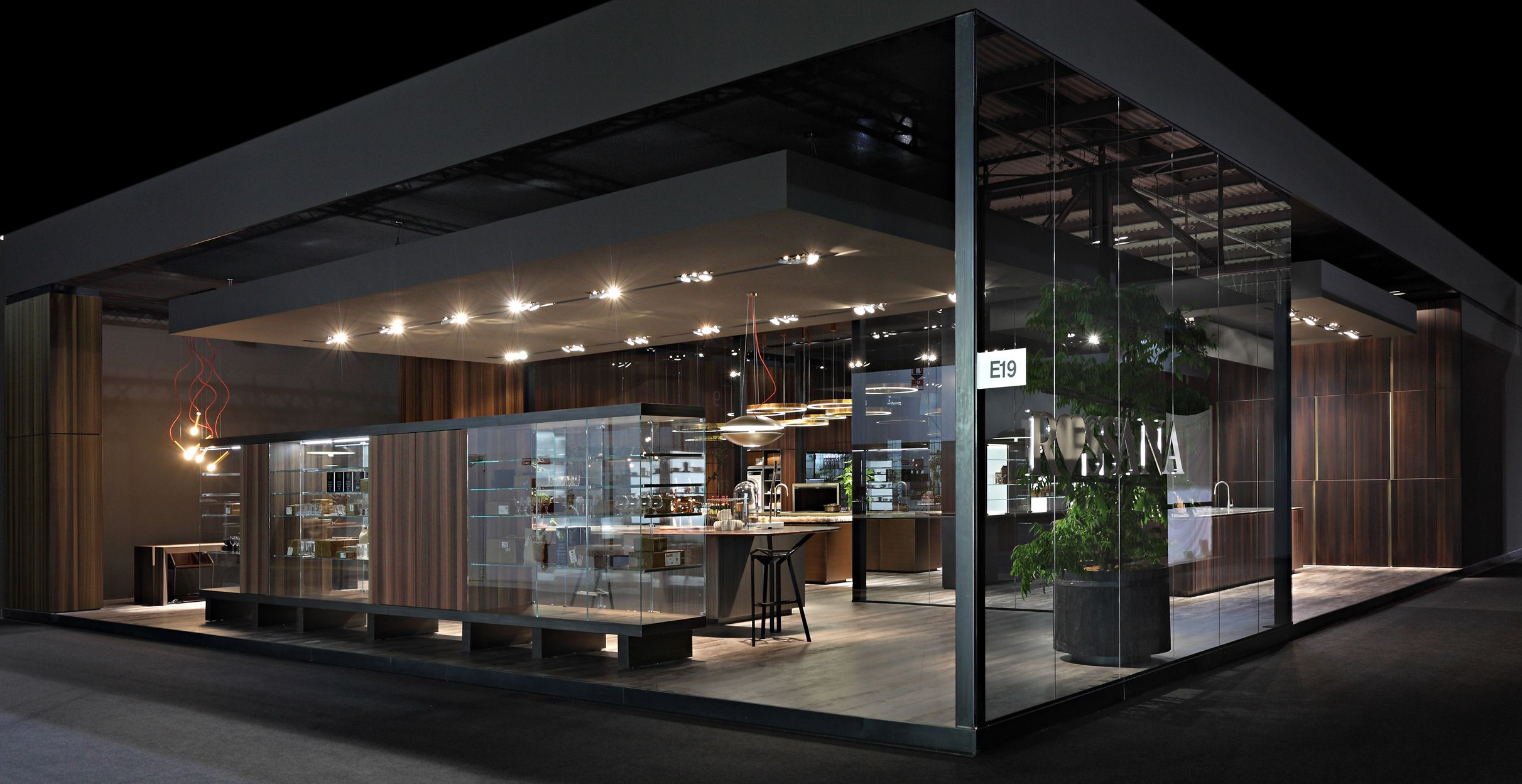 Exhibition Stand For Zara : Vista esterna stand rossana cucine stand design exhibition booth