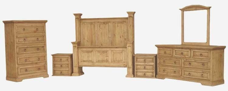 Laredo Rustic Bedroom Furniture Set  Southwestern Rustic Mesmerizing Rustic Bedroom Sets Design Inspiration
