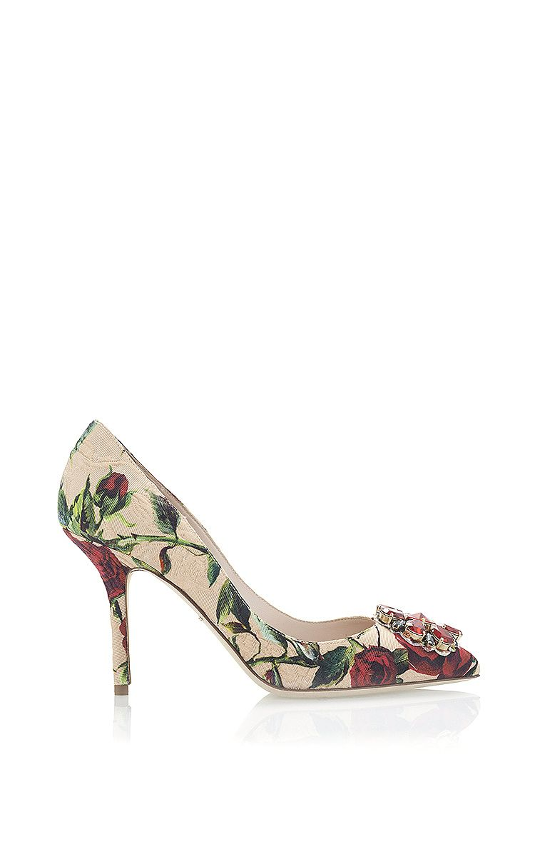 Dolce & Gabbana Printed Embellished Pumps buy cheap eastbay x33YdaK