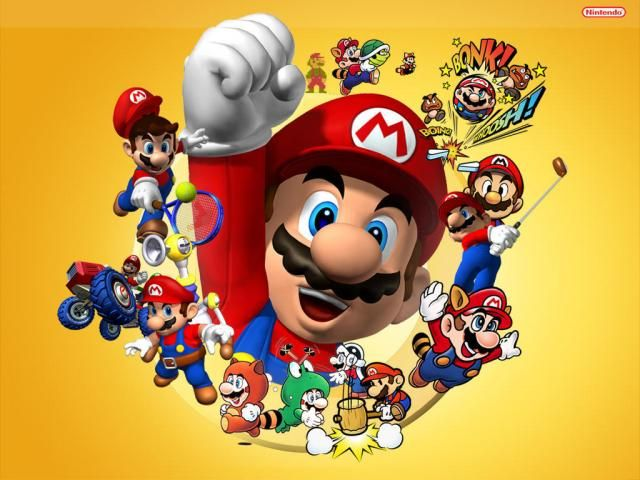 Resultado De Imagen De Las Mejores Imagenes De Mario Super Mario Brothers Irmaos Mario Mario Party