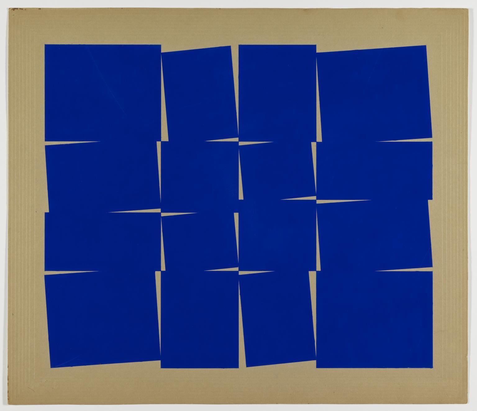 Lio Oiticica Metaesquema 1958 Projeto Brazilian Art In 2019 Kunst