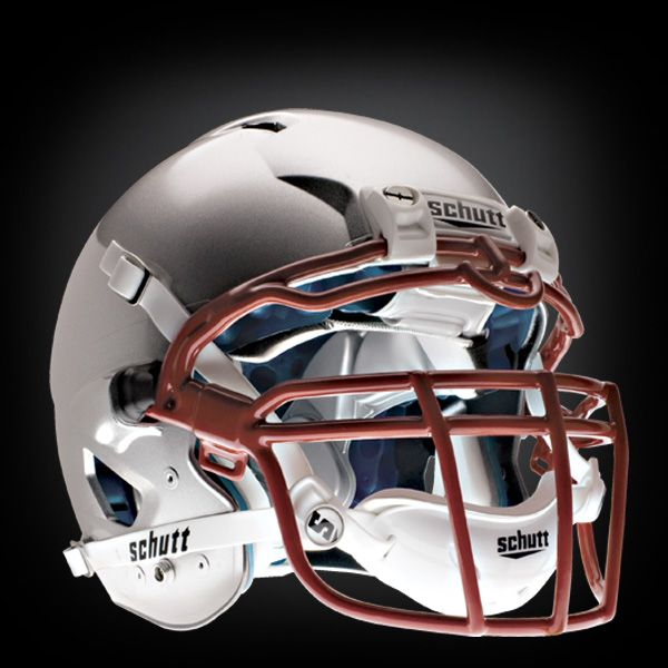 Schutt Ion 4D football helmet. Best looking adult football helmet on the market. We saw plenty of these being worn by the New York Giants in the Super Bowl.