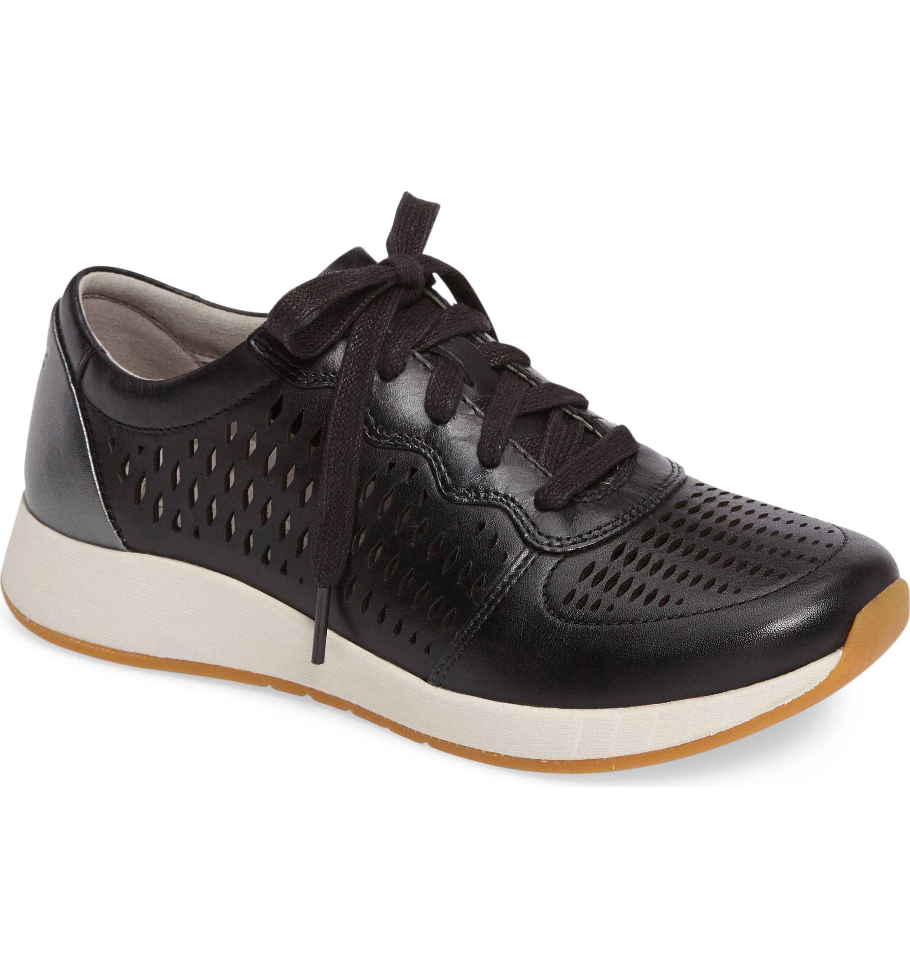 cfee8c9f422 Charlie Perforated Sneaker. Back In BlackLeather ...