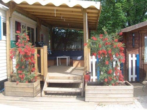 Terrasse Mobil Home La Londe Pour Les Soirees D Ete Terrasse Mobil Home Mobilhome Terrasse