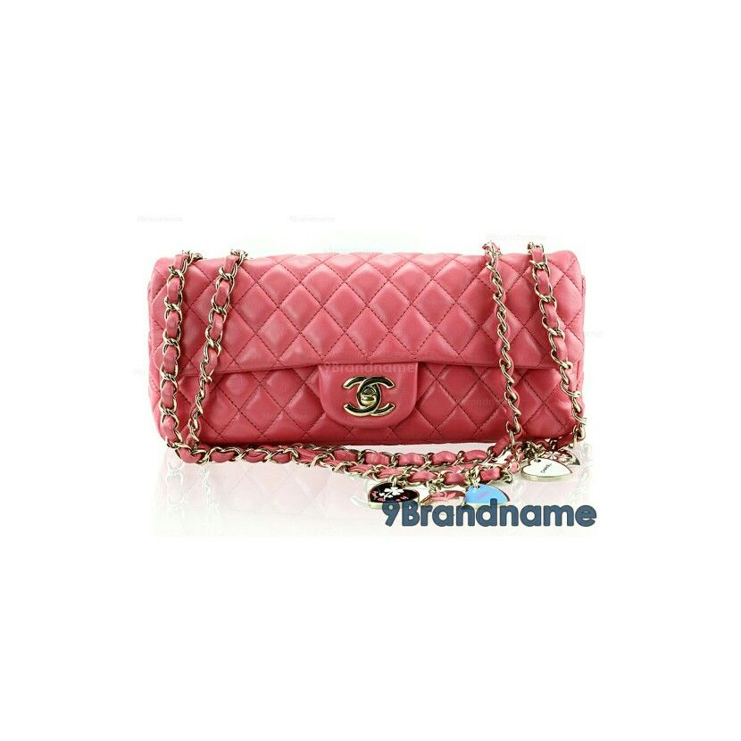 58bff5fb7cef Chanel Classic10 Limited Edition Valentine Pink Lambskin GHW - Used  Authentic Bag กระเป๋าชาแนล