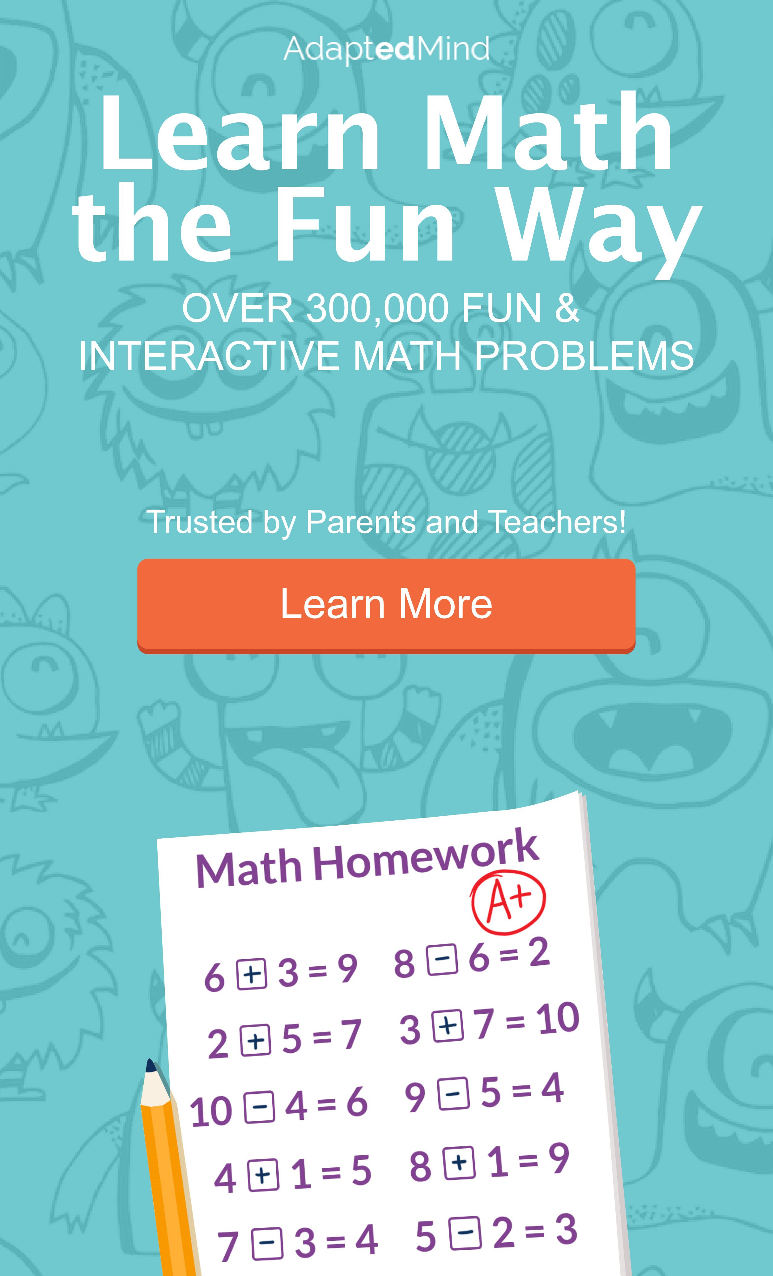 Over 95% Improve Math Confidence & Ability. Trusted by Parents ...
