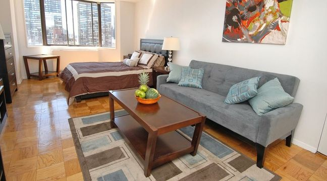 Studio Fully Furnished Midtown East Furnished Apartment Furnishings Home