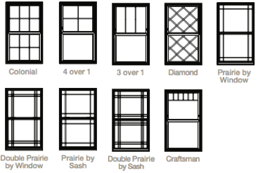 Double Hung 4000 Series Window Standard Grid Patterns Double Hung Windows Double Hung Double Hung Windows Exterior